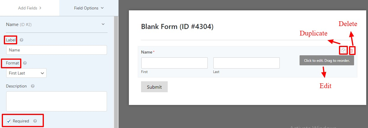 intregrate WPForm with Elementor