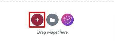 create icon only buttons in Elementor
